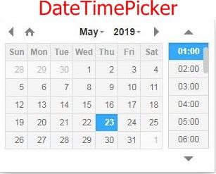 DateTimePicker