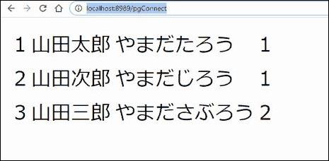 Node.jsの実行結果